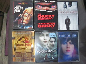 Selling Chucky Collection, Jurassic Park Trilogy Dvd movies