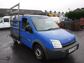 FORD TRANSIT CONNECT T200 L SWB WITH GLASS RACK, Blue, Manual, Diesel, 2004