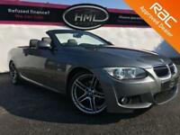 2011 61 BMW 3 SERIES 3.0 325D M SPORT 2D AUTOMATIC 202 BHP CONVERTIBLE DIESEL