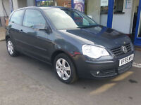 2006 VOLKSWAGEN POLO 1.4 AUTOMATIC 41K ALLOYS POWER STEERING