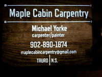 Maple Cabin Carpentry
