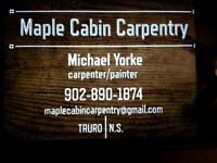 Maple Cabin Carpentry