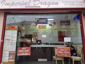 IMPERIAL DRAGON TAKE AWAY FOR SALE