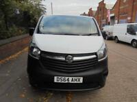Vauxhall Vivaro 1.6CDTi ( 115PS ) L1H1 2014 / 64 REG NO VAT CHOICE OF 6