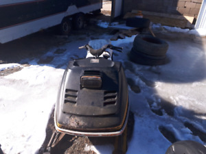 Two sleds for parts or repair.