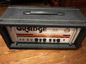 Orange Amplifiers TH30 Head Black Tolex
