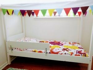 IKEA Children's Bed with Tent Cover in GREAT condition!
