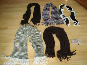 5 Assorted Womens Scarfs Plus 1Jewelled Headband -All for $15 Kitchener / Waterloo Kitchener Area image 1