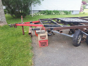 Complete utility trailer - needs assembly