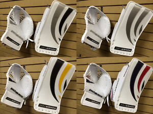 New Powertek Ice Hockey Trapper & Blocker Set Senior Goalie