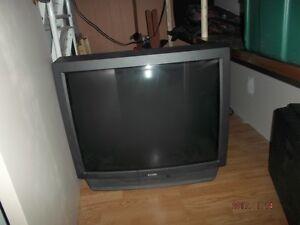 "FREE 32"" Colour TV"