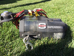 S2500 Electric Winch w/ Controller/Switch - 2500lbs Edmonton Edmonton Area image 2