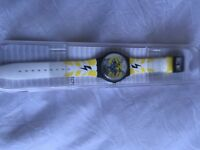 Swatch watch new with cat face ideal gift was £47.50