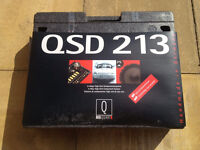 MB Quart QSD213 high end component car speakers