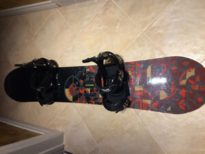 Burton King 158cm with Custom Burton Bindings