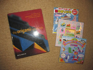 ORIGAMI How-To Book & 3 Packs of Origami Paper