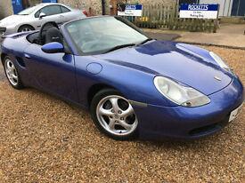 1999 Porsche Boxster 2.5 Sports Cabriolet Convertible RARE Colour. Px Swap