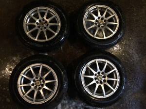 "DAI 15"" Alloy Wheels 4x 114.3 & 100"