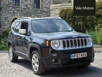 2017 Jeep Renegade 1.4T MultiAirII Limited Auto 4WD (s/s) 5dr Automatic SUV Petr