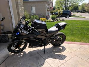 2014 ninja 300 black ed out UPGRADES