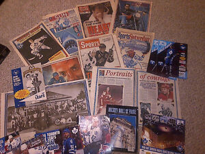 1993 TORONTO MAPLE LEAFS FANS NEWSPAPER SCRAPBOOK COLLECTION WOW Cambridge Kitchener Area image 6