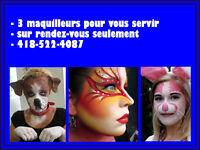 MAQUILLAGES D'HALLOWEEN PROFESSIONNELS