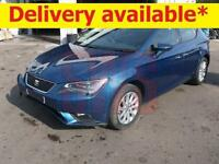 2015 Seat Leon SE Technology TDi 1.6 DAMAGED REPAIRABLE SALVAGE