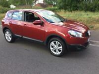 2012 Nissan Qashqai 1.6 Acenta CVT 2WD 5dr SUV Petrol Automatic