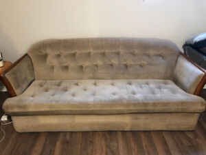 Couch and Desk for Sale