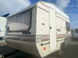 4 berth vintage Elddis Ci. Tows great. Solid chassis. I can deliver