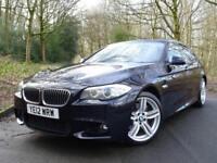2012 12 BMW 525 2.0TD (218 bhp) auto d M Sport..VERY HIGH SPEC..STUNNING !!
