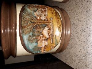 Vintage cookie jar tea set