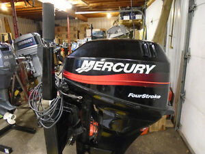 2001 Mercury 15HP 4S Motor for Sale