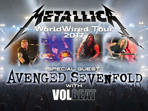 METALLICA, AVENGED AND VOLBEAT!!!!