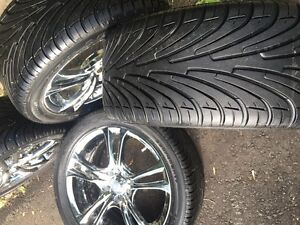 NEXEN Tires & Custom Chrome Rims Peterborough Peterborough Area image 7