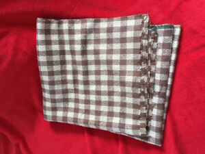 COTTON KNIT GINGHAM FABRIC