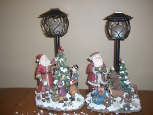 Christmas décor - old fashioned figures