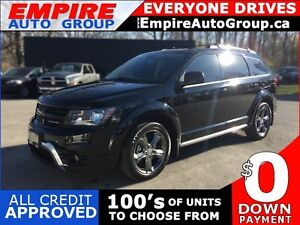 2015 DODGE JOURNEY CROSSROAD * AWD * LEATHER * SUNROOF * REAR CA