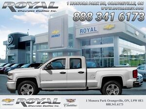 "2016 Chevrolet Silverado 1500 CUSTOM * 5.3L * 20"" WHEELS  5.3L *"