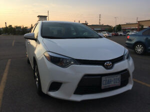 Toyota Corolla LE White Automatic 2015