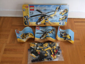 Ensemble complet LEGO® Creator Yellow Racers Set Age 7-12 - $30