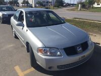 2004 Nissan Sentra 169,000km certified etested