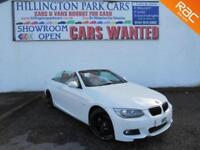 2011 BMW 320 2.0i M Sport, convertible, pearl white, full bmw service history