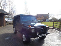 1988 F Reg Mercedes-Benz G Wagon 300 GD Diesel Very Tidy