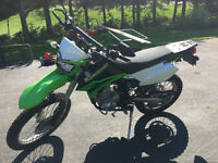 2010 Kawasaki 250klx street and trail