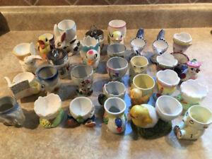 28 Vintage Egg Cups
