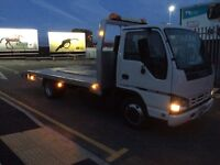 Isuzu recovery truck 3500t long MOT low mileage very good condition ready for work