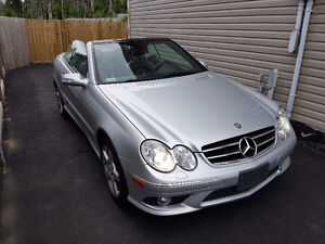 2007 Mercedes-Benz CLK550 5.5L V8 Convertible AMG Package