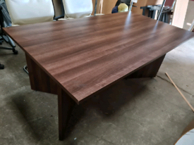 Brand new executive boardroom table