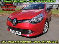 2013 Renault Clio 1.2 16v (75bhp) MediaNav Dynamique - Full History - KMT Cars